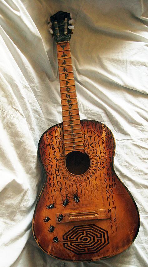 Картинки на гитару своими руками 6