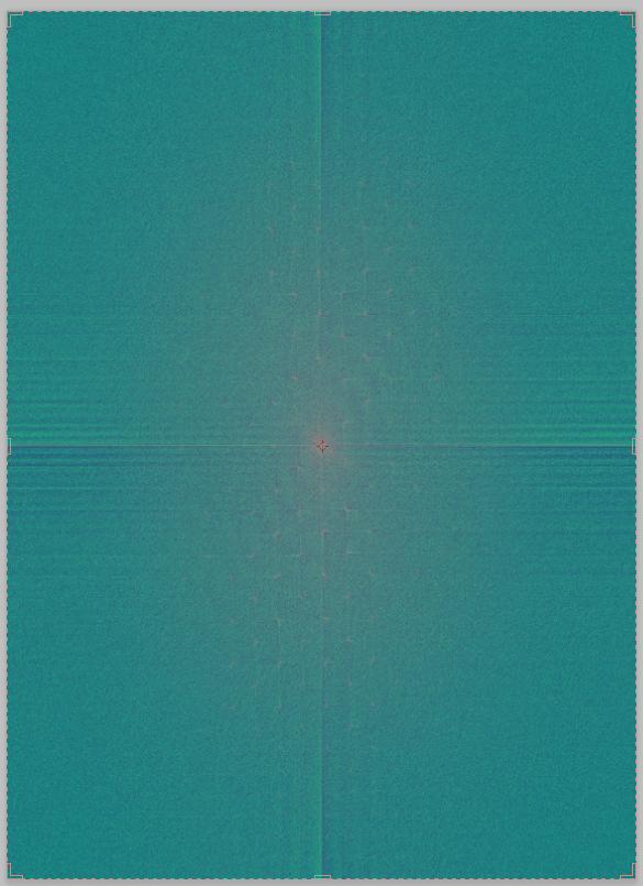 Убираем тиснение и оцветняем старую фотографию Фурье в действии