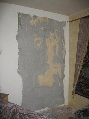 Роспись стены. Этап 1