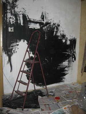 Роспись стены. Этап 3