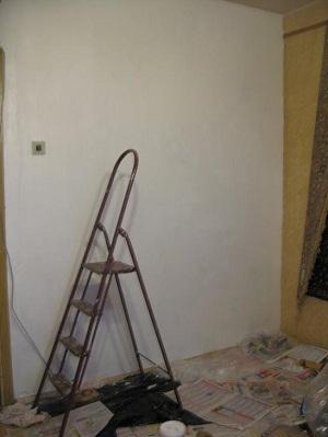 Роспись стены. Этап 2
